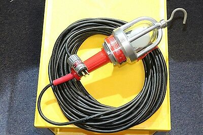 Hazardous Location 120v 100w Drop Light Hand Lamp Explosion Proof 100' 16/3 Cord