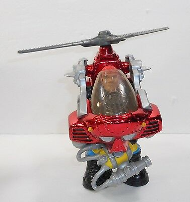 Rescue Heroes ~ Hal E. Copter ~ 1999 Fisher Price ~ Model 72957