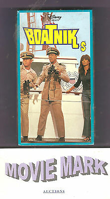 THE BOATNIKS 1970 (Walt Disney Home Video) Robert Morse Stefanie Powers vhs NEW!