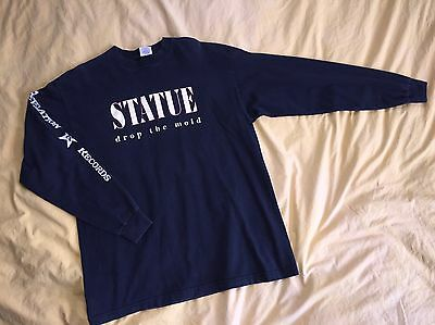 Vintage Statue Filter The Infection T-shirt Revelation Hardcore XL 90's
