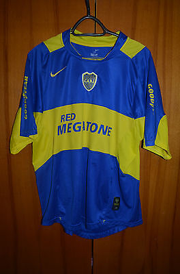 Boca Juniors Argentina 2006 Home Football Shirt Jersey Maglia Camiseta Nike