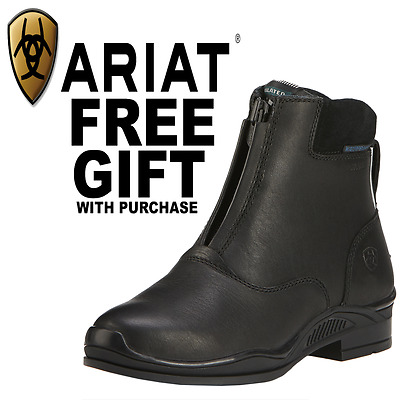 Ariat Youth Extreme Zip H20 Insulated Paddock Boots - Black
