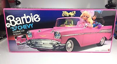 Vintage Mattel Barbie  '57 Chevy Bel Air Convertible Pink  Mattel #3561