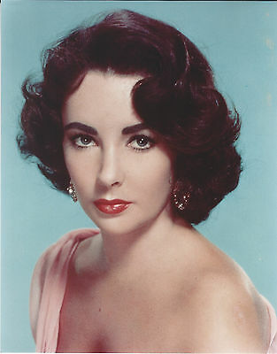 Liz Taylor 8 X 10 Photo With Ultra Pro Toploader