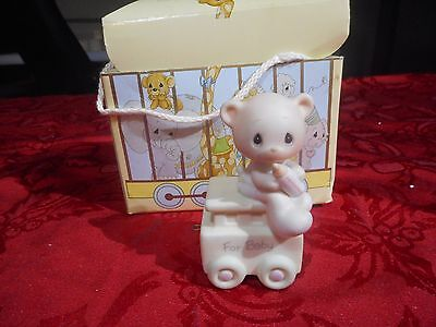 Precious Moments Figurine May Your Birthday be Warm #15938