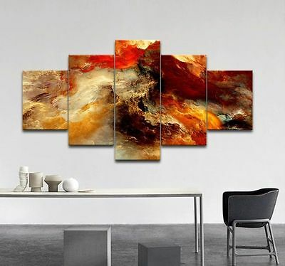 Huge Modern Abstract Art Print Oil Painting Wall Decor Canvas (No Frame)