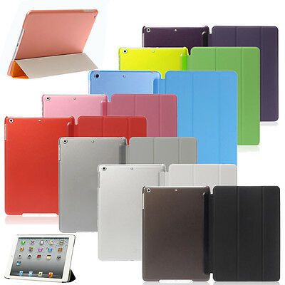 Magnetic Leather Smart Stand For iPad 2 3 4 5 6 Mini Slim Flip Hard Case Cover