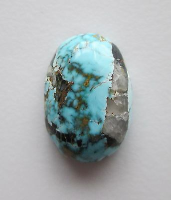 7.30 ct 100% Natural Blue Moon Turquoise Cabochon Gemstone, # CE 054