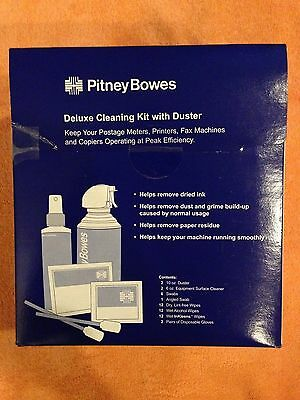 CKO-3 Pitney Bowes Cleaning Kit Deluxe CKO-3