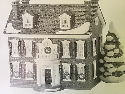 Dept 56 Snow Village® Federal House American Architecture Series BRAND NEW