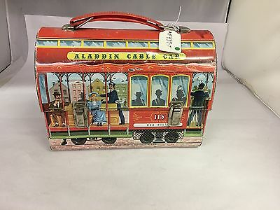 Aladdin Cable Car Lunchbox Lunch Box.    437-T