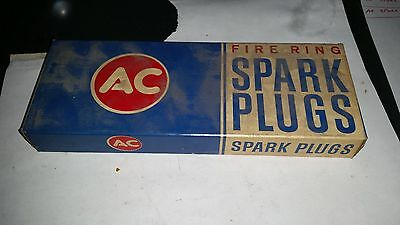 AC Spark Plug 45F nos VINTAGE set of 8 Brand new