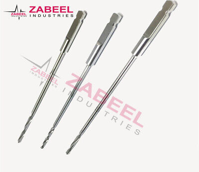 Quick coupling abd Drill bit Set 1.1mm to 4.5mm Instrument orthopedic Zabeel
