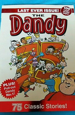 Dandy comic last ever issue