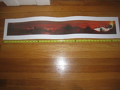 """Weezer - PROMO Poster 7""""x39"""" Everything Will Be Alright Promotional Only LP CD"""