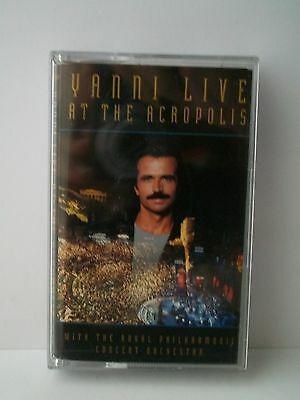 YANNI WITH THE ROYAL PHILHARMONIC CONCERT ORCHESTRA - Live At The Acropolis [mc]