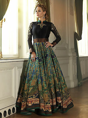 Bollywood Indian Pakistani Designer Salwar Kameez Gown Party Dress