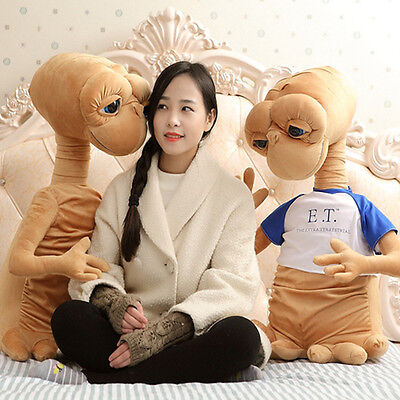 New ET EXTRA TERRESTRIAL Plush ET Doll 1PCS 70cm Big Toy Stuffed Doll with cloth