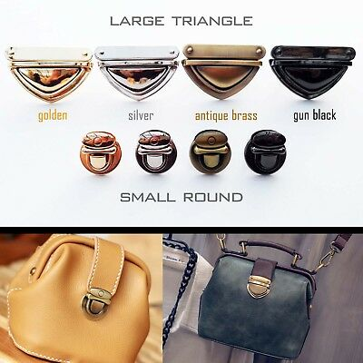 Leather Bag Case Handbag Purse Tuck Lock Closure Catch Clasp Buckle DIY Repair