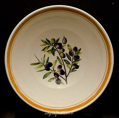 Portmeirion Alfresco Pomona Cereal Bowl Olive
