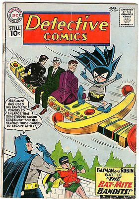 Detective Comics #289. Vol1. DC Mar 1961. Batman. Martian Manhunter. GD+