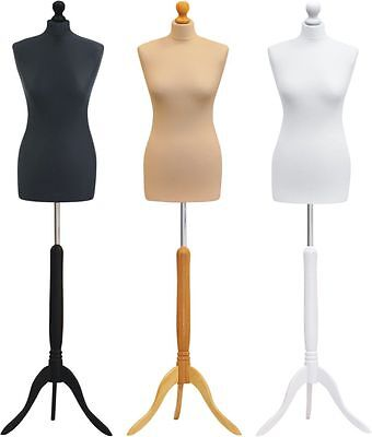 Size 16/18 Tailors Dummy Dressmaking Mannequin Bust Shop Display Saree Fitting