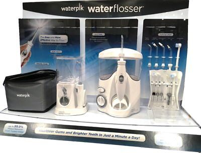 Waterpik Waterflosser Ultra and Nano Water Flosser + Travel Case Combo Pack New