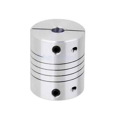 CNC Motor Jaw Shaft Coupler 5mm to 6mm Flexible Coupling OD 25x30mm