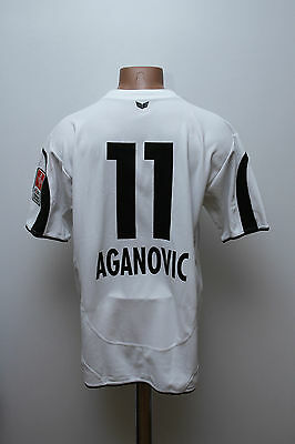 Neuchatel Xamax Match Worn Issue Switzerland Football Shirt Aganovic #11