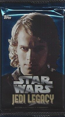 1 x Anakin Skywalker Pack / Packs Lot Star Wars Jedi Legacy 2013 Topps PNZ