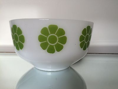 Federal Green Daisy Bowl 8""