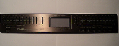 TEAC Stereo Graphic Equalizer Model EQA-20 Face Plate