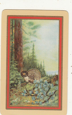 1 single vintage playing swap card -  USNN - The Call - mint