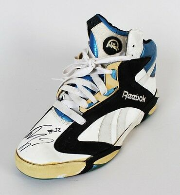 Shaquille O'Neal Magic Game-Worn,  Signed Rookie Shoe – JSA