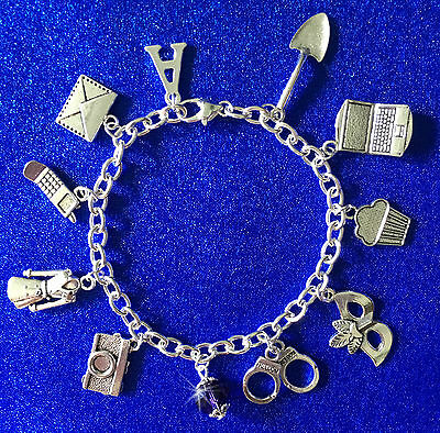 ** Pretty Little Liars Styled Simply Stunning Charm Bracelet **