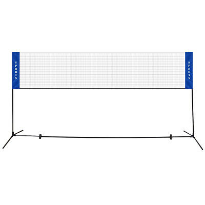Portable 13.8'x5' Badminton Beach Volleyball Tennis Training Net w/ Carrying Bag