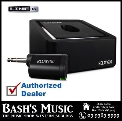 Line 6 RELAY G10 Plug and Play Digital Guitar Wireless System - NEW