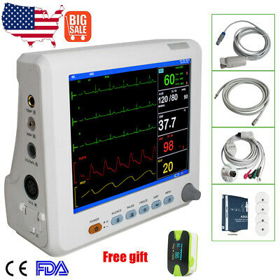 6-Parameter Patientenmonitor ICU CCU Vital Sign Patient monitor Hospital/Home