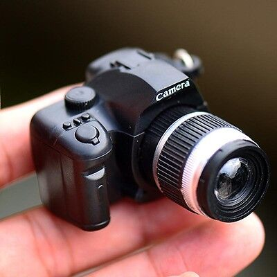 Hot Sale Camera With Flash Light Lucky Cute Charm LED Luminous Keychains