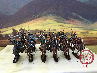 28mm Ancient WAB DPS Painted Gallic Cavalry GH153