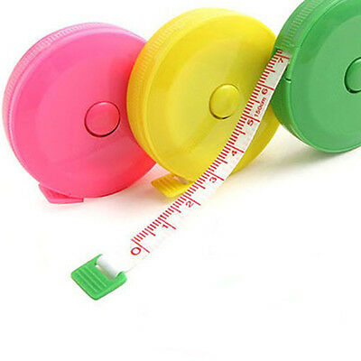 New Portable Sewing Retractable Ruler Tape Measure 150cm/60inch