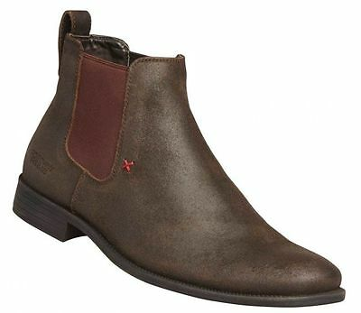 Windsor Smith Princeton Brown Shoes Leather Ankle Boot Casual Dress Formal Men's