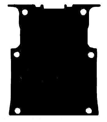 Ford Transit Connect Van (2015-Date) Black Rubber Rear Load Area Floor Mat