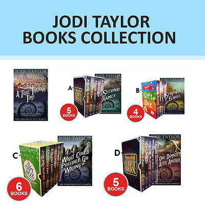 Jodi Taylor Chronicles of St.Mary's Series Collection Gift Wrapped Set NEW
