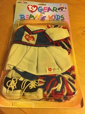 TY Gear - CHEERLEADER - New Clothes for TY Beanie Kids
