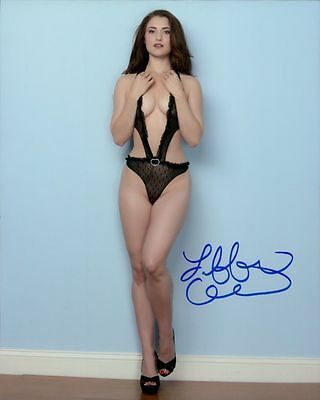 Tiffany Crystal In Person Signed Photo - B431 - Playboy Cybergirl