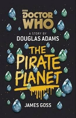 Doctor Who: the Pirate Planet by Douglas Adams Hardcover Book (English)