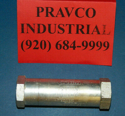 """NEW Pacseal Hydraulics 40-1507 model # CV-100 1"""" 5000 PSI Check Valve 1"""