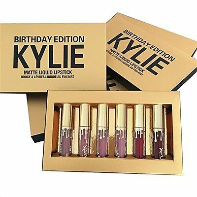 Kylie Jenner Limited Birthday Edition Kylie Matte Liquid Lipstick Cosmetics