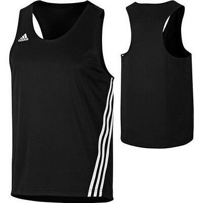 Adidas Base Punch Top Boxing Vest Black